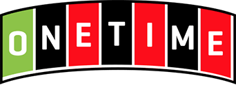One time logo