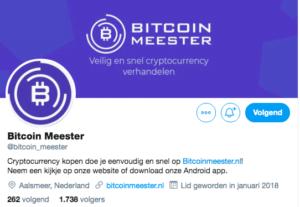 Bitcoinmeester Twitter