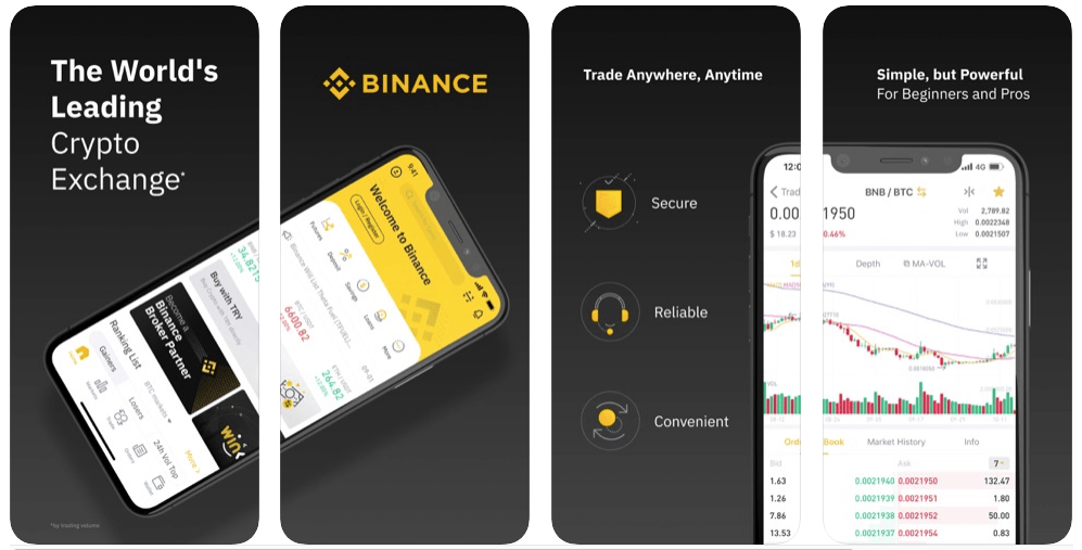 Binancen Screenshot app