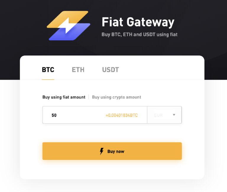 Buy Bitcoin on Bybit