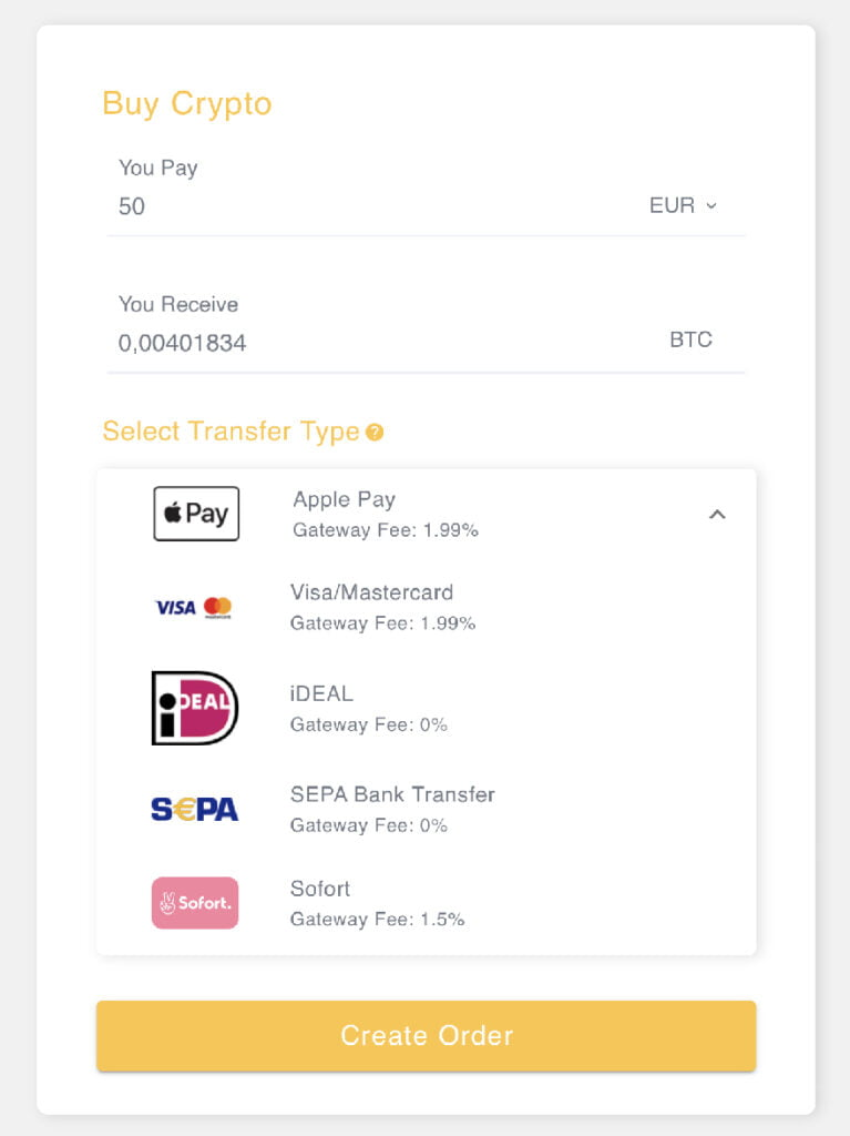 Pay with Ideal on Bybit
