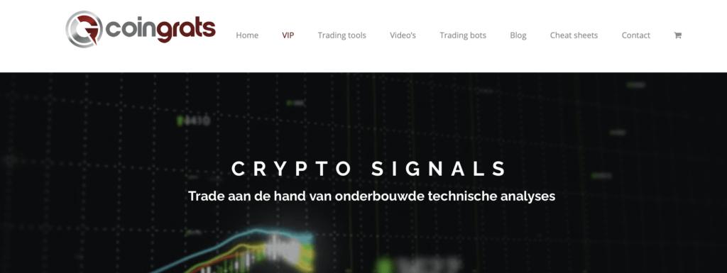 Mr. Coingrats crypto signals VIP
