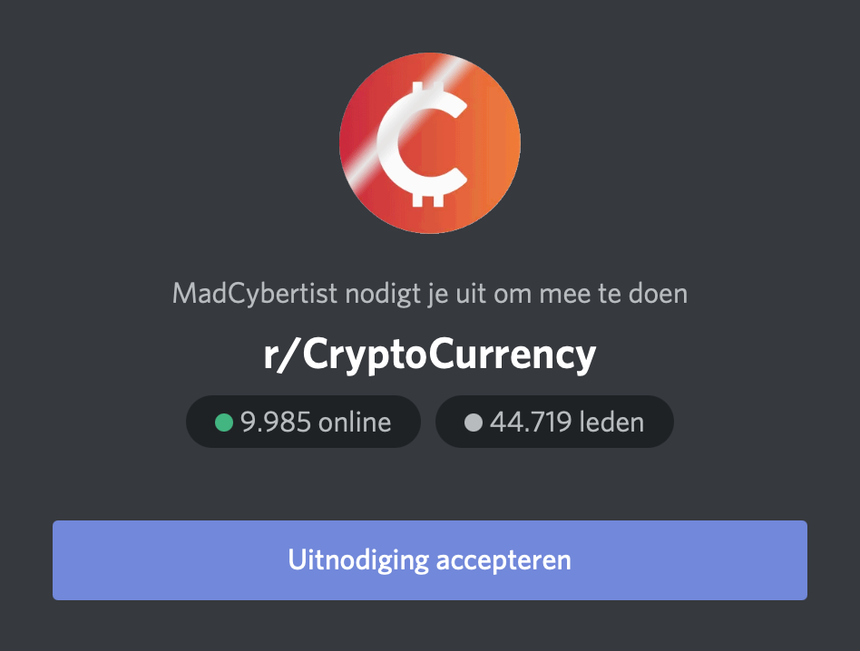cryptocurrency-discord