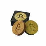 Bitcoin Chocolade Duo   Gold & Bronze
