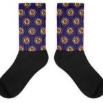 Sokken Bitcoin Paars