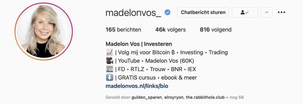 Madelon-Instagram