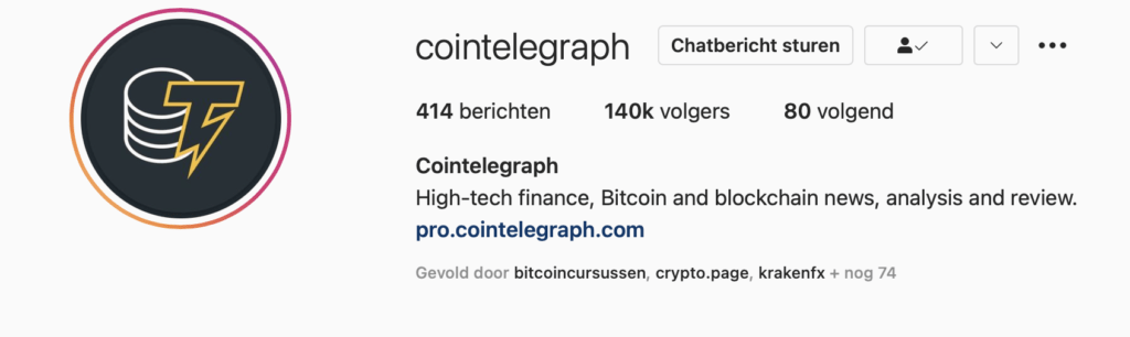 Cointelegraph-Instagram