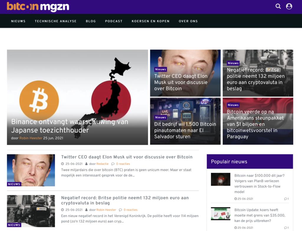 Bitcoinmagazine-Website
