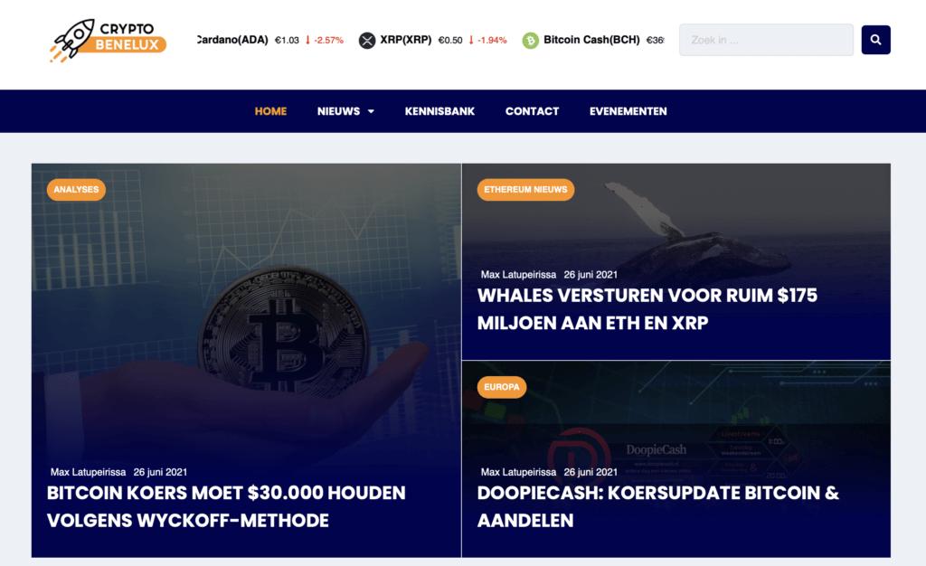 Cryptobenelux-Nieuwsplatform