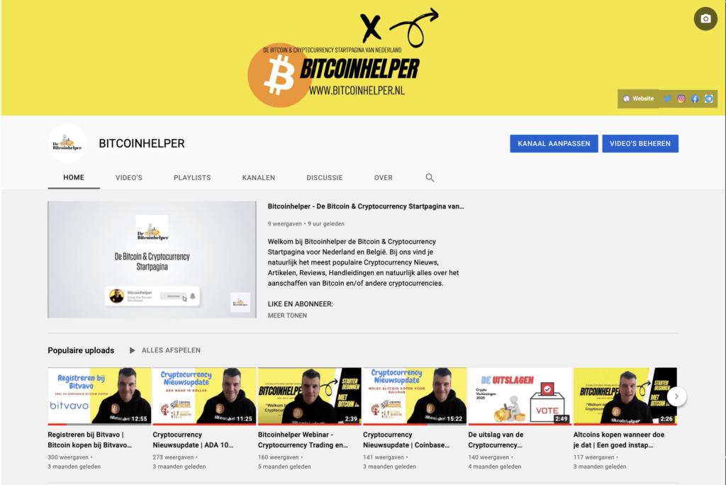 Bitcoinhelper-youtube