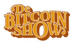 De bitcoin show logo